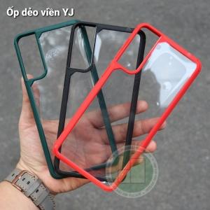 Ốp dẻo viền màu YJ Galaxy S21 Plus